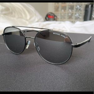 Michael Kors Lon Aviator Sunglasses